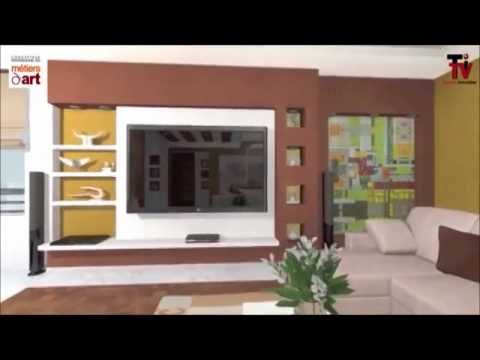 Decoration amenagement appartement 3d youtube for Decoration placoplatre