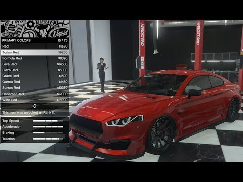 GTA 5 - DLC Vehicle Customization - Obey 8F Drafter (Audi RS5) and Review