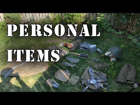 East German Personal Items