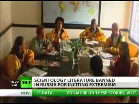 Scientology books banned in Russia for inciting extremism