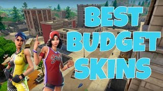 BEST BUDGET SKINS IN FORTNITE *NEW*