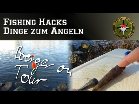 Fishing Hacks - Dinge zum Angeln