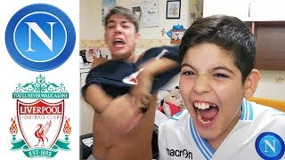 MI SENTO MALE! INSIGNEE! NAPOLI LIVERPOOL 1-0 | LIVE REACTION NAPOLETANI
