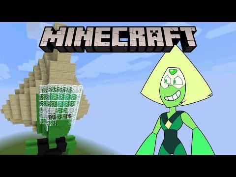 Minecraft Steven Universe Peridot Statue YouTube - Skins para minecraft pe steven universe