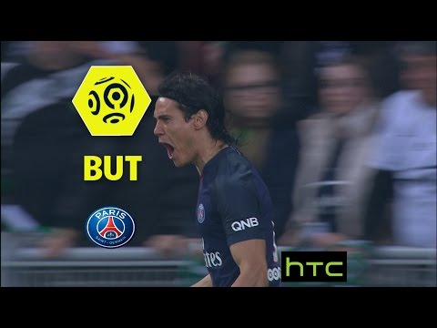 But Edinson CAVANI (2') / AS Saint-Etienne - Paris Saint-Germain (0-5) -  / 2016-17