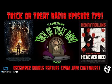 Trick or Treat Radio Episode 179 - The Irish Sheik vs. Henry Rollins