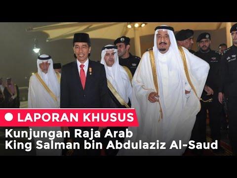 Raja Arab King Salman bin AbdulAziz Al-Saud Tiba di Indonesia