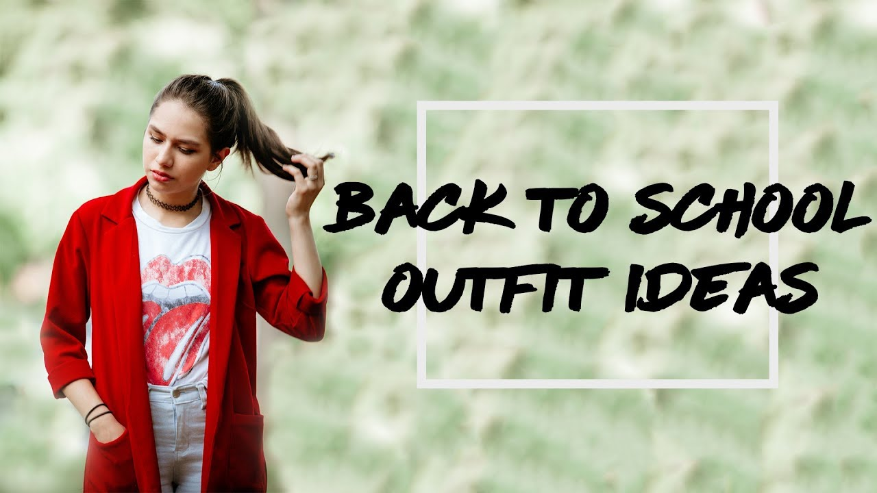 BACK TO SCHOOL OUTFIT IDEAS 2018| ft. yesstyle 5