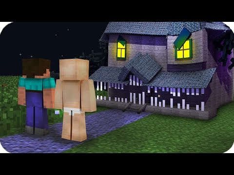 CANAVAR EVİ BENİ İÇİNE ALDI! 😱 Minecraft
