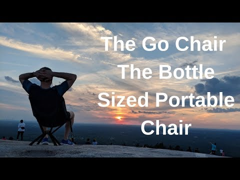 The Go Chair - The Bottle Sized Portable Chair! להורדה