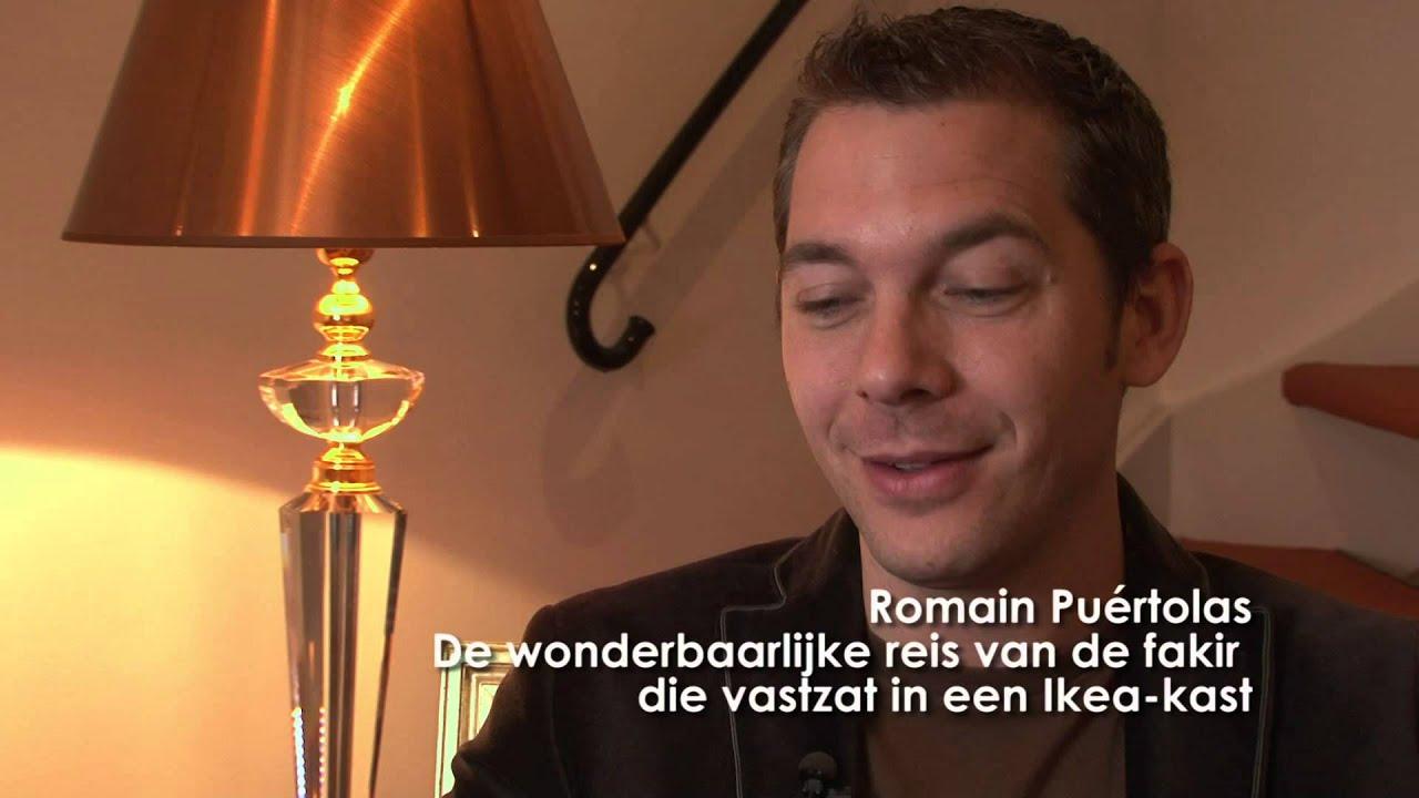 Romain Puértolas De Wonderbaarlijke Reis Van De Fakir Die Vastzat In Een Ikea Kast