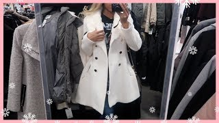 SHOPPING FOR A NEW WINTER COAT! VLOGMAS DAY 9