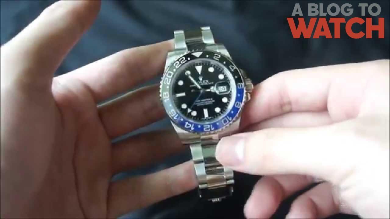 rolex gmtmaster ii 116710 blnr watch review