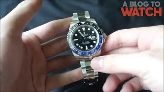 Rolex GMT-Master II 116710 BLNR Watch Review | aBlogtoWatch