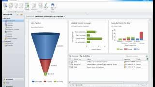 Sales Module Demonstration 01 - Microsoft Dynamics CRM 2011 - Success Portal at xRM.com