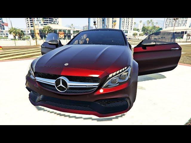 لن تصدق أن سيارة المرسيدس الواقعية موجودة في جي تي أي 5 | GTA V Mercedes Car Mod