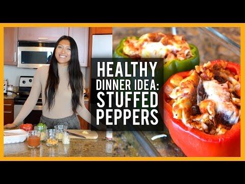 Healthy Dinner Idea: Southwest Stuffed Peppers