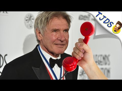 "Harrison Ford Talks About Doing ""Dabs""."