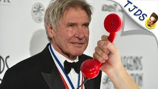 Harrison Ford Talks About Doing