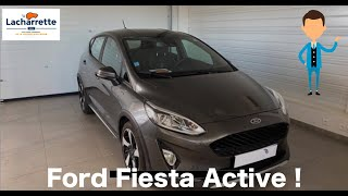 ⚡️ARRIVAGE⚡️FORD FIESTA ACTIVE Fiesta 1.0 EcoBoost 85 S&S BVM6 Active Pack
