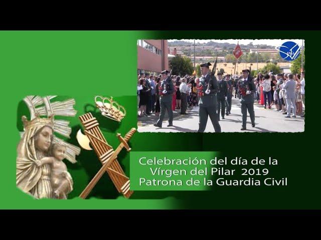 Celebración del día del Pilar 2019 - Guardia Civil Cáceres