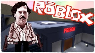 🤘 I AM PABLO ESCOBAR - BUILD MY OWN PRISION - PRISION TYCOON ROBLOX