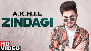 Zindagi (Full Video) | Akhil | Latest Punjabi Songs 2021 | Speed Records
