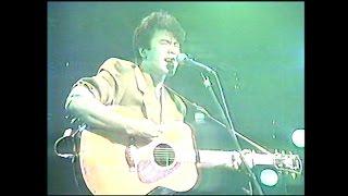 1987年 花畑牧場の田中義剛さん、シンガーソングライター時代の貴重映像.