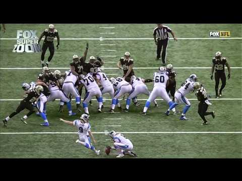 First NFL Blocked Extra Point Field Goal to be Returned for 2 Points | Panthers vs. Saints | NFL