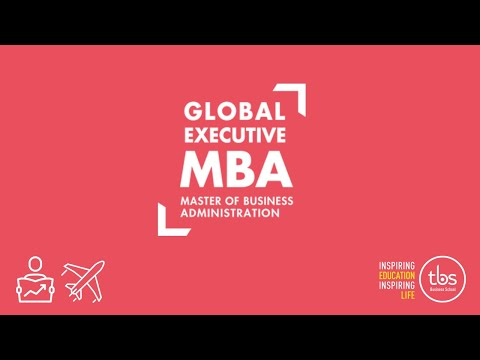 TBS Global Executive MBA : Jacques Digout