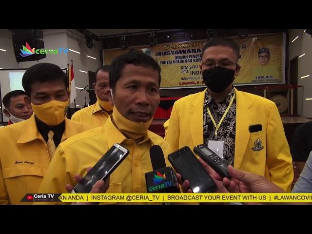 Musyawarah Daerah X Dewan Pimpinan Daerah Partai GOLKAR Kota Pekanbaru