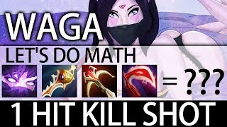 28 Min End Game with 2 Rapier 1K GPM WAGA Templar Assassin