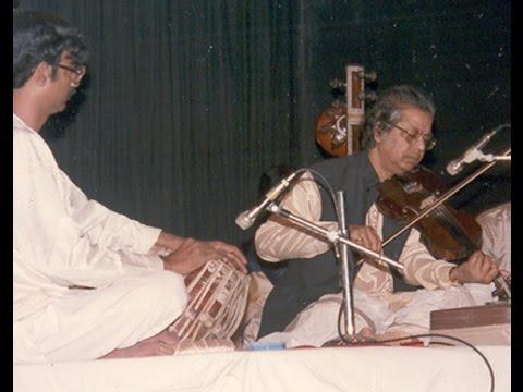 Pandit Rabin Ghosh, alap in raag Gorakh Kalyan
