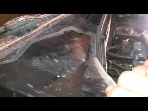 Как заменить салонный фильтр на Шевроле-Ниве?