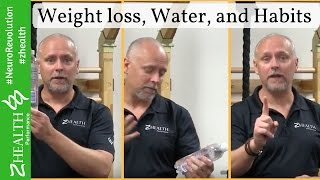 Weight Loss, Water, Habits