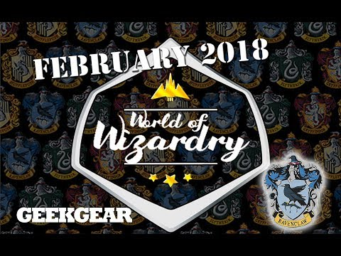Harry Potter : February 2018 World of Wizardry GeekGear Monthly Subscription Box : Ravenclaw