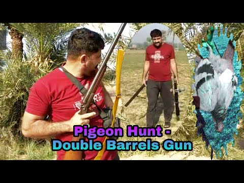 The Village Hunters - Pigeon Hunt With Double Barrel Gun.