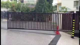 Legate Full Cantilever Automation Gate