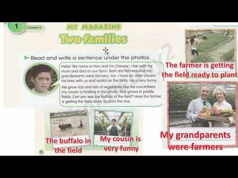 شرح منهج اللغة الانجليزية للصف السادس ابتدائي