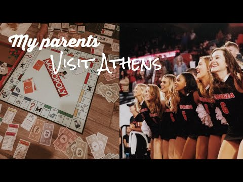 VLOG || College Weekend in my life + My parents visit Athens