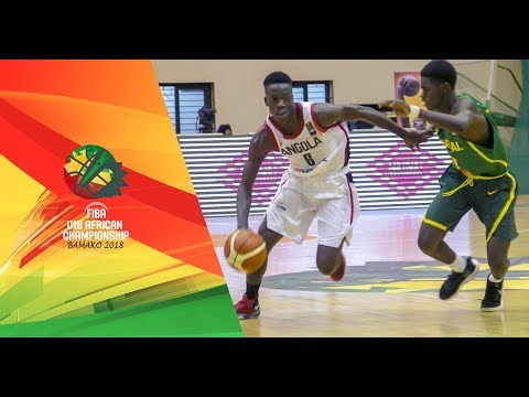 Angola v Senegal - Full Game - FIBA U18 African Championship 2018