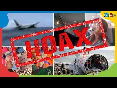 Berita Hoax Pesawat Lion Air Jatuh - Apa itu Hoax?