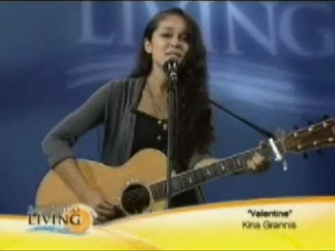 Kina Grannis sings Valentine on San Diego Living TV