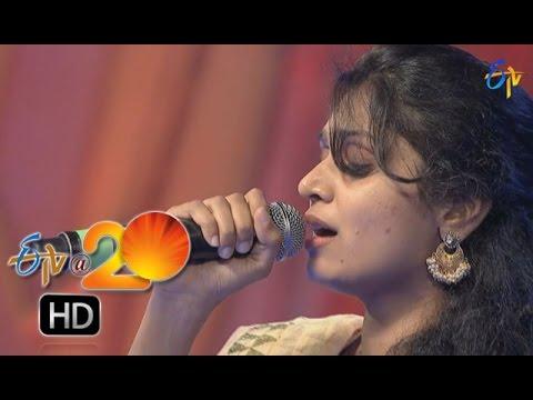 Mohana Performance - Kani Penchina Ma Ammake Song in Chilakaluripet ETV @ 20 Celebrations