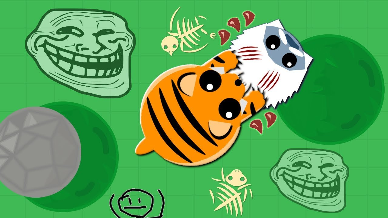 Download TIGER KILLS YETI WITH ABILITY!! // 1v1ING COMPILATION! // MOPE.IO
