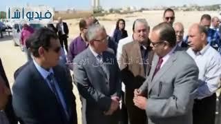 بالفيديو: محافظ المنيا يضع حجر أساس أول مصنع للصناعات الدوائية بالمنطقة الصناعية