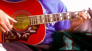 "Guang Liang (Fairy Tale) ""Tong Hua"" Acoustic Guitar Cover"