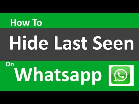 How to Hide Last Seen on Whatsapp for iPhone and any Device