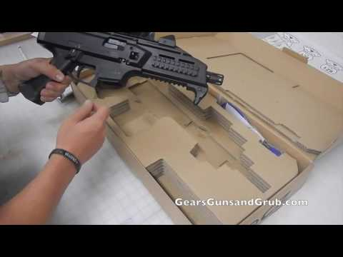 Unboxing the CZ Scorpion Evo 3 S1