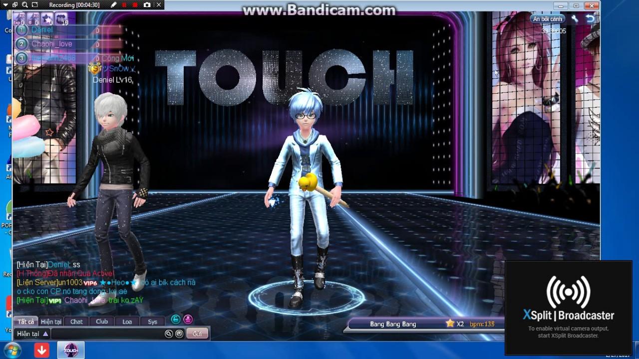 chơi touch trên zing me-nhảy bài bang bang vào cuối tháng😚